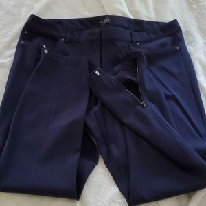 WHBM the skinny blue ankle jeans 14